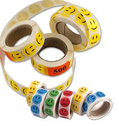 Smiley klistermærker