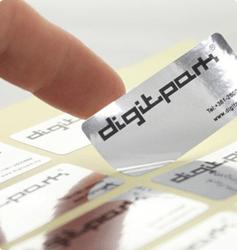 Sølv klistermærker