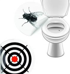 Toilet klistermærker